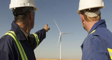 ERG: lavoro per manutentori eolici e stage in azienda
