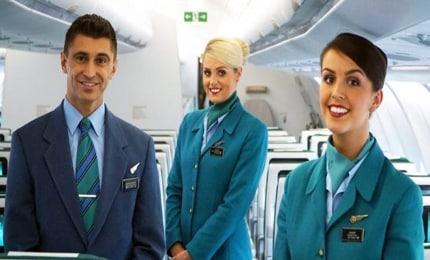 lavoro cabin crew aer lingus