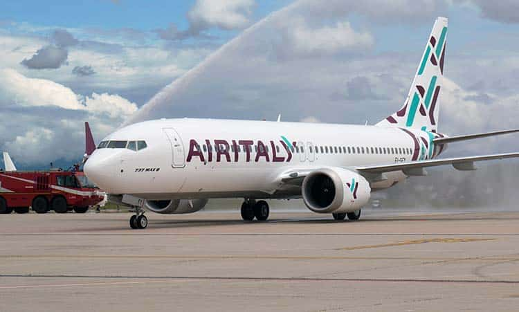 Lavoro Air italy