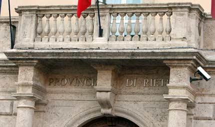 Concorso provincia rieti
