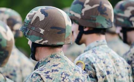 2000 volontari dell'esercito VFP1