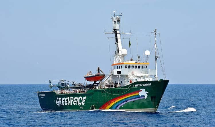 Greenpeace: Lavoro