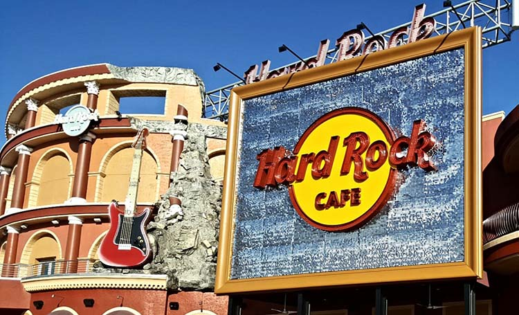 Hard Rock Cafe: Lavoro