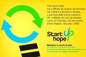 Start Up Start Hope: Finanziamenti per nuove Imprese in Abruzzo