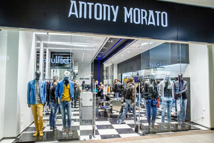 Antony Morato: lavoro a tempo indeterminato a Nola ed Enna