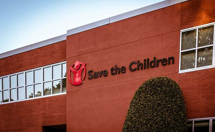 Save The Children lavoro