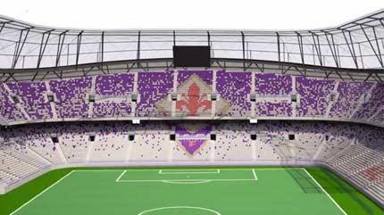 Lavoro Stadio Fiorentina