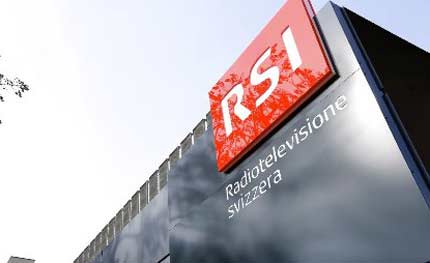 Lavoro televisione svizzera