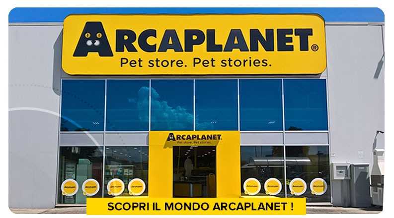 Arcaplanet, la catena di pet store leader in Italia specializzata in pet food&care, ha 8 posizioni aperte nel nord Italia