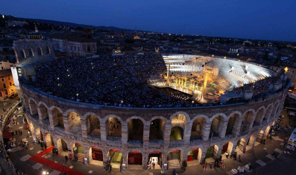 Arena di Verona, tutti i concorsi attivi