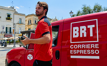 Lavorare in BRT Corriere Espresso