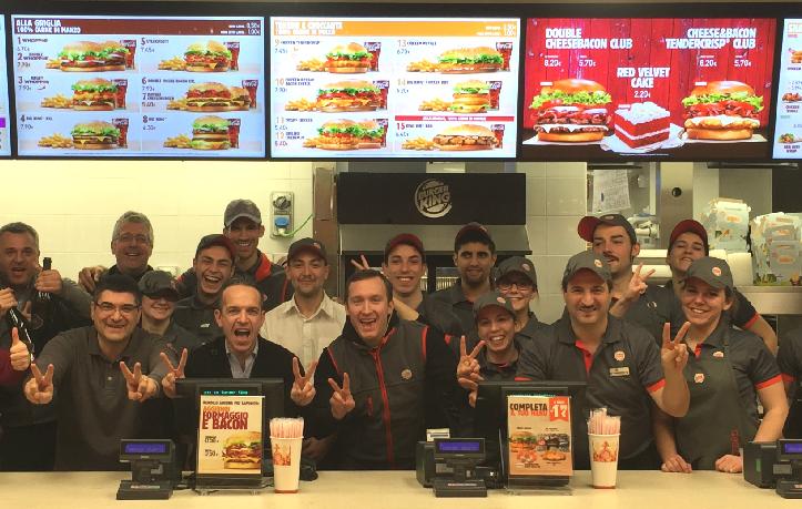 Offerte lavoro Burger King 2020