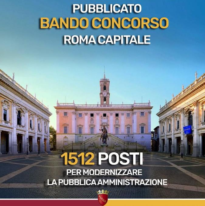 concorso comune Roma 2020