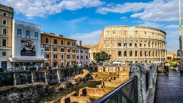addetti all'accoglienza nei musei di Roma